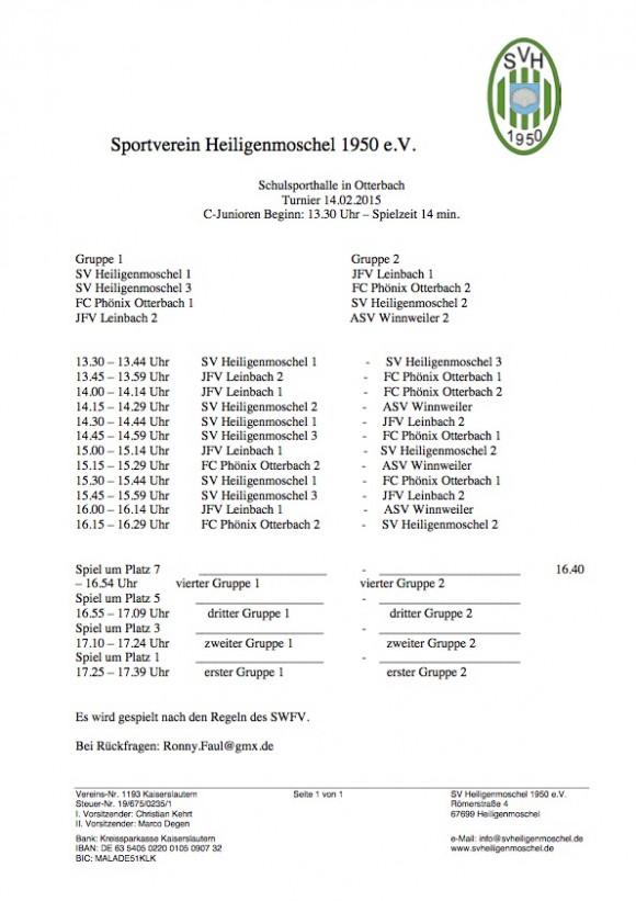 C-Junioren-Spielplan2015