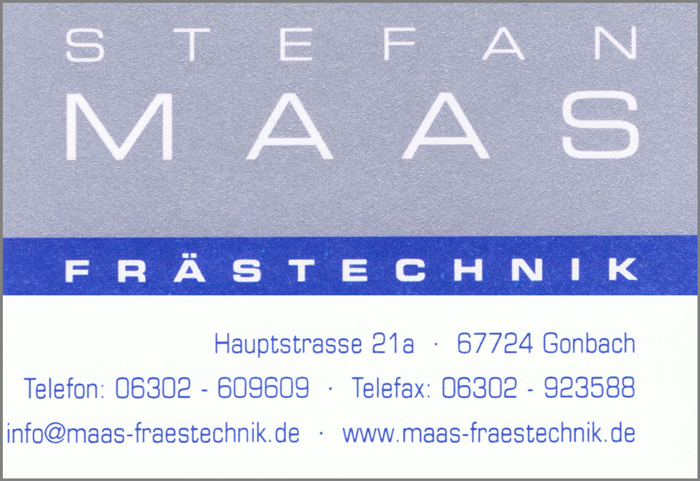 Maas Frästechnik