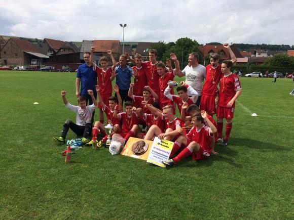 MannschaftsfotoC1-2015 Pokalsieg