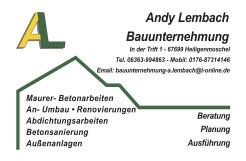 Andy Lembach Bauunternehmung